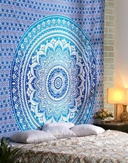 Hippie Mandala Multi Purpose Baumwolltuch 108 von 90-Inch, dekorative Wand-Hängen, Picknick-Strand-Blatt -