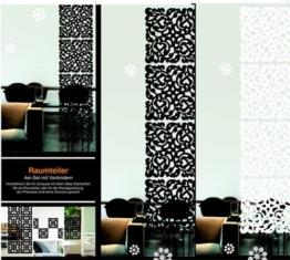 raumteiler vorhang viele modelle mit befestigung dachschr ge. Black Bedroom Furniture Sets. Home Design Ideas