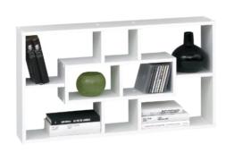 SB-Design 289-001 Regal Lasse B/H/T ca. 85 x 47,5 x 16 cm weiß -